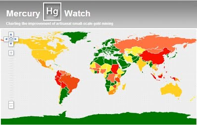 Gold Mines In World Map.Mercurywatch Database Artisanal Gold Council